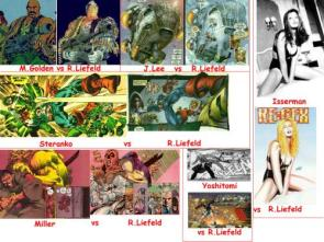 Liefeld Vs The World Of Art
