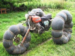 monster wheel motorcycle