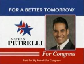 Nathan Petrelli For Congress