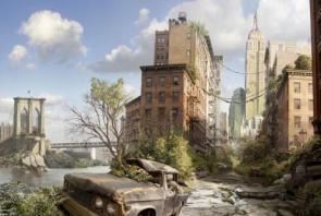 Post apocalyptic new york