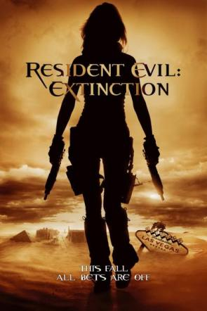 Resident Evil – Extinction Movie Poster
