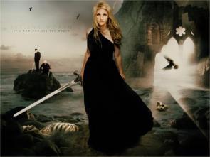 Buffy Swords on Beach