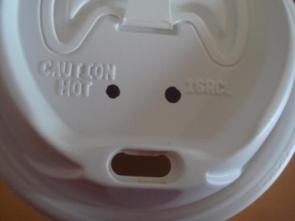 Shocked Coffee Cup Lid