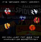 Spider-Man – do you just not see the hyphen?