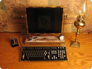 Steam Punk Computer