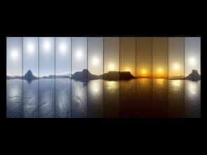 Sun Patterns Wallpaper