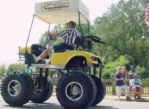 Ultimate Monster Golf Cart