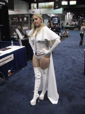 White Queen Cos Player