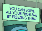 you can solve all your problems by freezing them!
