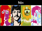 The Beatles Colored