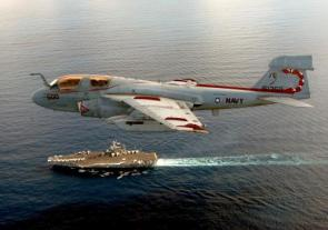 Aircraft Carrier and Jet