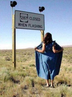 Closed When Flashing