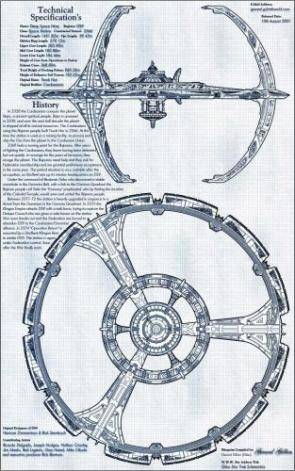 Deep Space Nine Station Diagram and History
