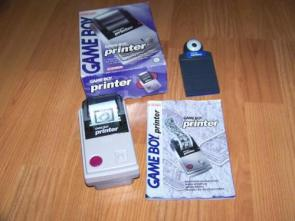 The Gameboy Printer and Camera