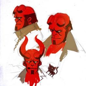 Hellboy Concept Art
