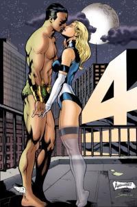 NSFW – Invisible Woman Vs Namor