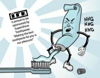 NSFW – SuperShine Toothpaste