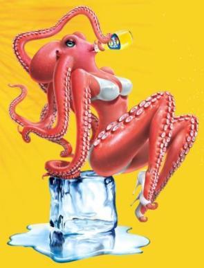 NSFW – Bikini Octopus Girl