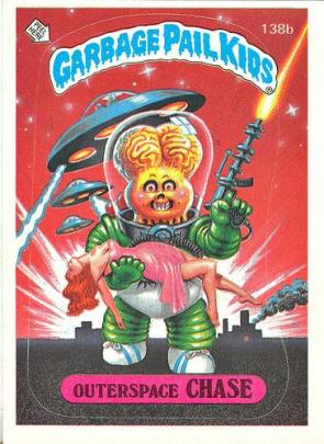Garbage Pail Kids – Outerspace Chase