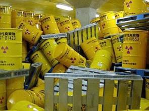 Radioactive Canisters Incident