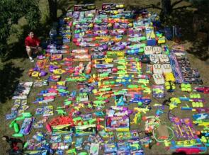 Giant Supersoaker Collection