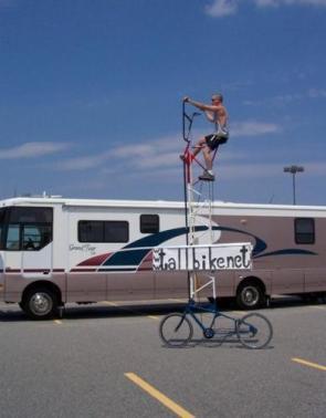 A Very Tall Bike