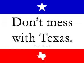 Don't Mess With Texas – it's not nice to pick on retards