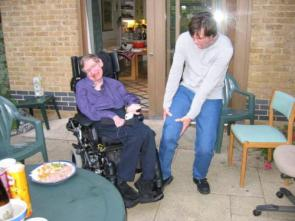 Stephen Hawking And Jim Carrey