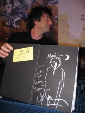 Neil Gaiman Marriage Proposal