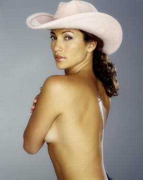 NSFW – Jennifer Lopez In A Cowboy Hat