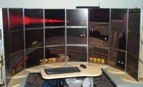 Mega Gaming Monitor