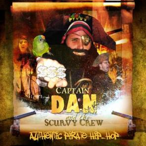 Captain Dan & The Scurvy Crew – Authentic Pirate Hip Hop