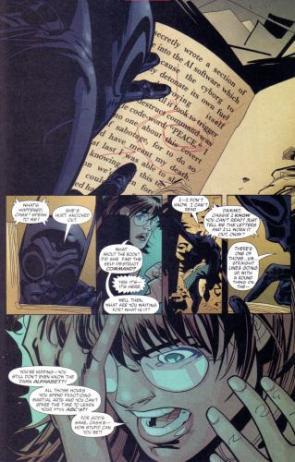 Batgirl Can't Read
