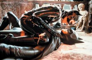 Catwoman Rides Batman
