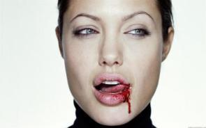 Angelina Jolie's Bloody Lip