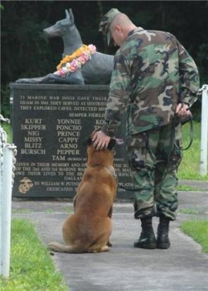 Marine War Dog Memorial