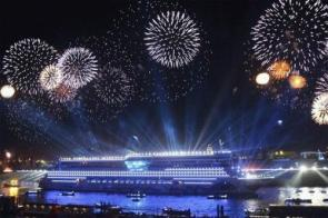 Cruise Ship Fireworks