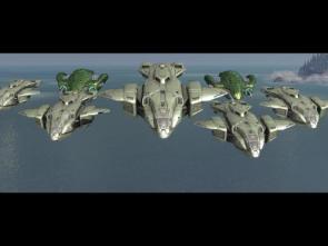 Halo Drop Ship Fleet