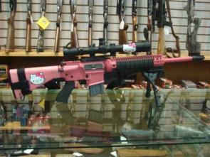 Hello Kitty Rifle