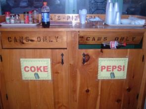 Pepsi Cans Only!