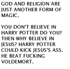 God And Religion = Magic!