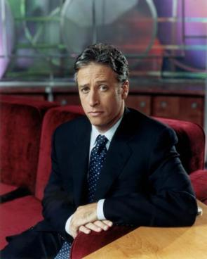 Jon Stewart On A Couch