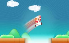 Mario Jump Wallpaper