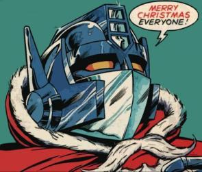 Optimus Prime X-Mas Wishes