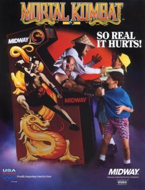 Mortal Kombat Arcade Flyer