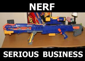 Nerf – Serious Business