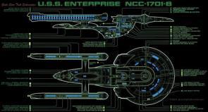 Enterprise 1701-B Cut Away