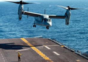 Osprey Carrier Landing