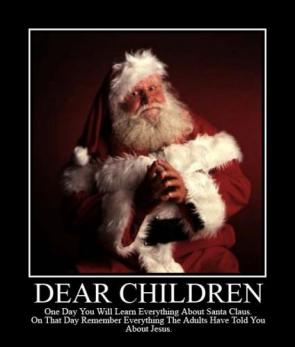 Dear Children: Remember Santa