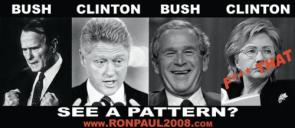 Bush – Clinton – Bush – Clinton